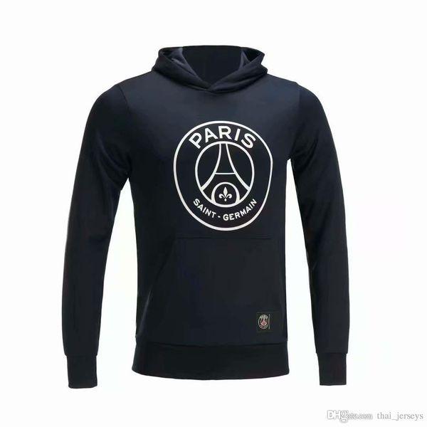 2018/19 PSG hoodie soccer tracksuit 2019 Paris football jacket psg NEYMAR MBAPPE Champions League Tracksuit Kit