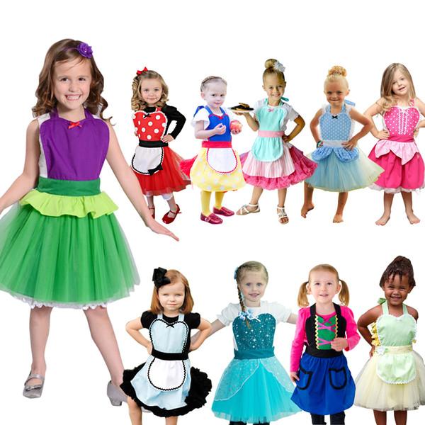 e6ae05c4dc592 Girls Princess Costume Tutu Apron Fun For Special Occasion Birthday ...