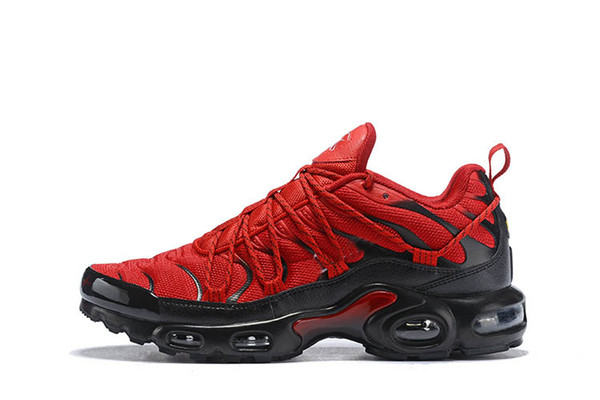 Acquista NIKE AIR MAX PLUS Champagnepapi 2019 Hot Champagnepapi Mercurial Plus Tn Ultra SE Nero Rosso Arancione Scarpe Outdoor Plus Scarpe TN Donna
