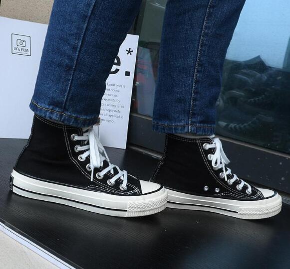 Drop Shipping Marka Yeni 15 Renkler Tüm Boyut 35-46 Yüksek Üst spor yıldız Düşük Üst Klasik Tuval Ayakkabı Sneakers erkek kadın Rahat Ayakk ...