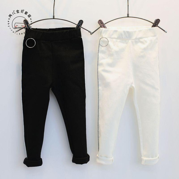 2019 New Spring Item Girl Casual Pencil Pant boy leggings baby girls knickers bottoms harem Kids cross Harley's nissen line Trousers pants