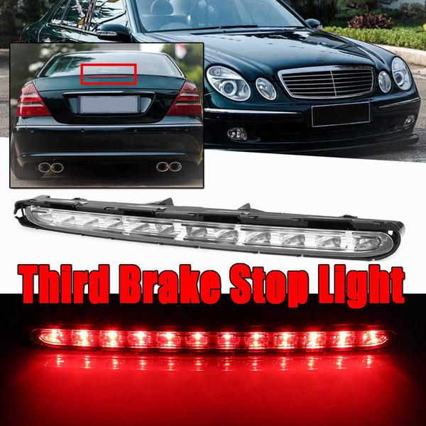 New Car LED Red Car Rear Terzo Luci di Freno Luce Posteriore Assemblea Luce Per Mercedes Benz W211 E55 E320 E500 Spia Lampada