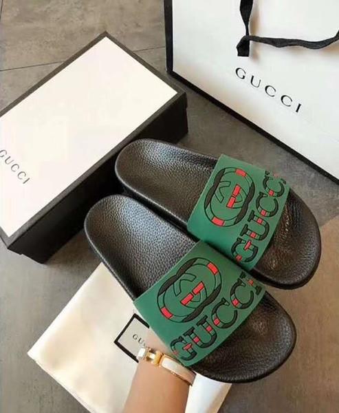 bdshiyihaodian / Men Women huaraches Sandals Designer Shoes Luxury Slide Summer Fashion Wide Flat Slippery With Thick designer Sandals Slipper Flip Flop