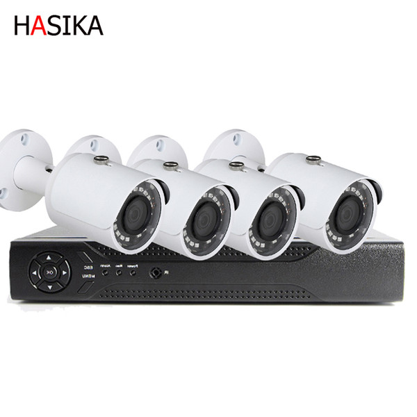 HD network 4 Channel 5.0mp set HD IP 3.6mm infrarrojo Home CCTV Video Vigilancia 4 Ch POE kits de cámara IP