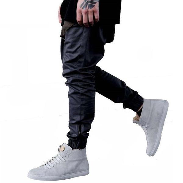 Fashon Spor Uzun Pantolon Erkekler Rahat Sweatpants Baggy Jogging Yapan Pantolon Moda Donatılmış Dipleri streetwear hiphop