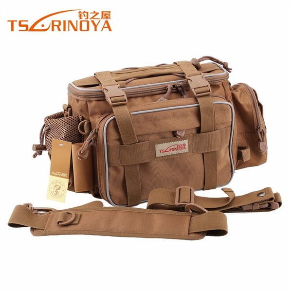 TSURINOYA Trulinoya New Y7 Multifunctional lure waist pack messenger bag outdoor bag waist pack fishing fishing tackle #359375