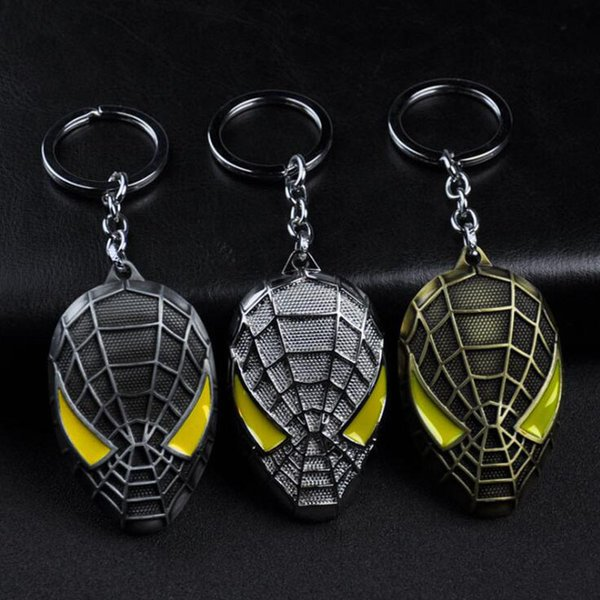 10pcs/lot Fashion Jewelry Key Chains The Marvel Superhero Key Ring Creative Party Favors Car Dec For Fans Accessories