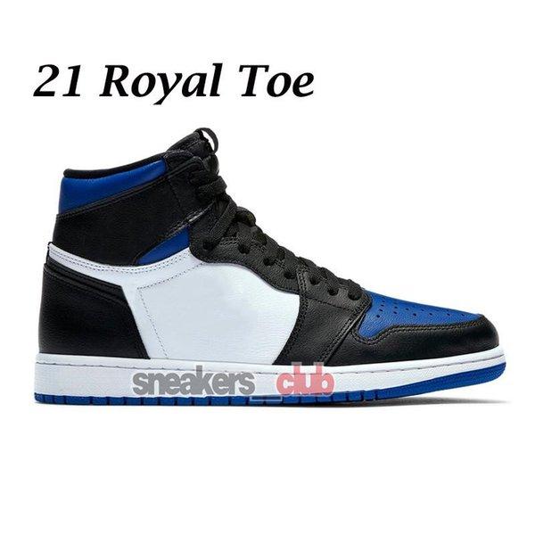21 Real del dedo del pie