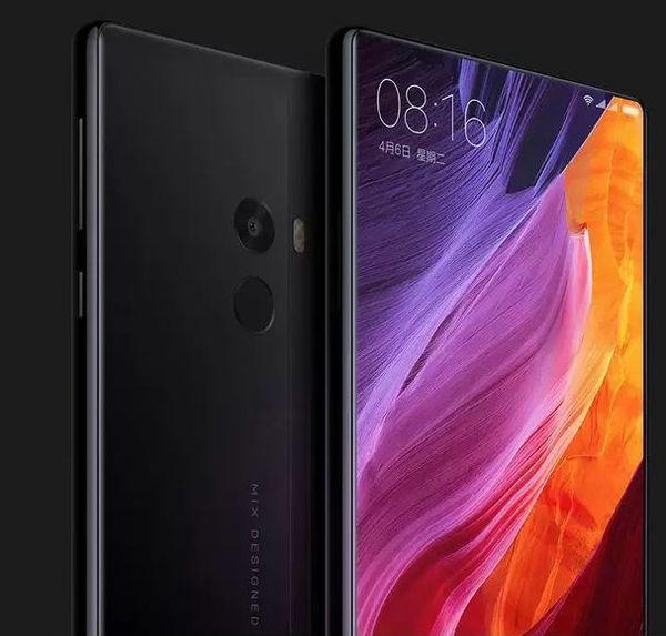 Original Xiaomi Mi MIX smartphone 6.4 Inch Full Screen Snapdragon 821 6GB RAM 256GB ROM 2040x1080P xiaomi phone