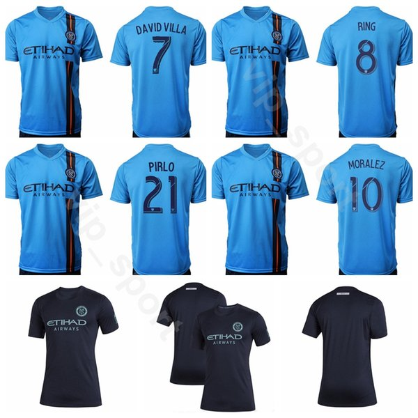 2019 2020 mls new york city fc soccer 10 moralez jersey 29 tajouri-shradi 8 ring 1 johnson 8 lampard football shirt kits s-xxl