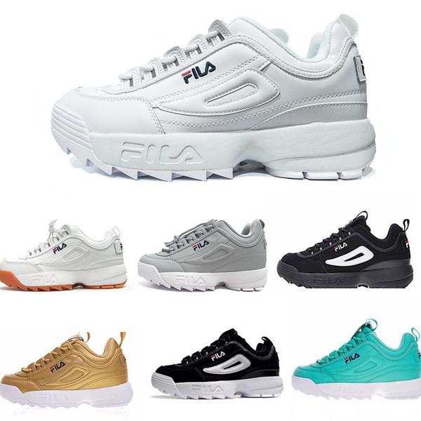 Disruptors II 2 running shoes Triple Women men designer shoes FILE section Hiking Jogging Casual sports sneakers section increa