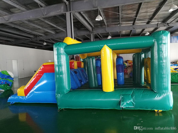 inflatable slide bouncer combo kids jumping house rental moonwalk for outdoor and indoor playground