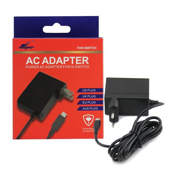 Mudar Lite Carregador Tipo de interruptor-C adaptador Universal AC Power Adapter Débito Direto Carregador Rápido