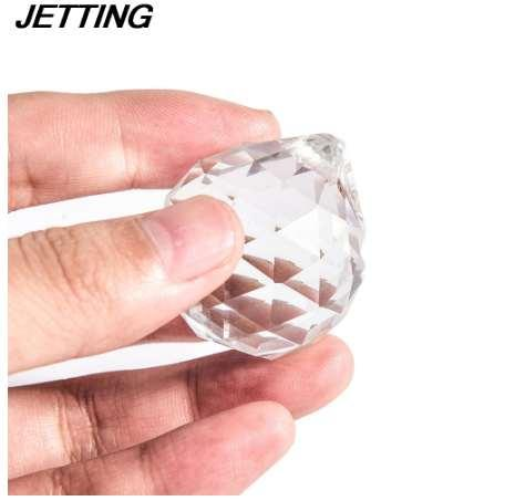 40 mm Crystal Ball Prism Faceted Glass Chandelier Crystal Parts Hanging Pendant Lighting Ball Suncatcher Home Decor