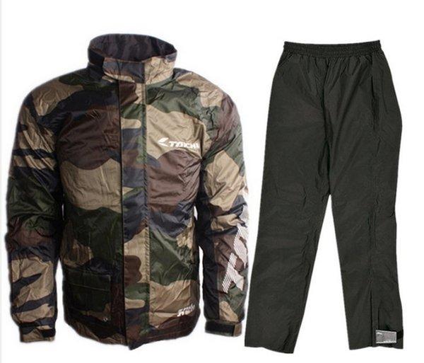 2018 yeni bisiklet kamuflaj su geçirmez yağmur pantolon su geçirmez dış ceket Erkekler Suit rsp-038.