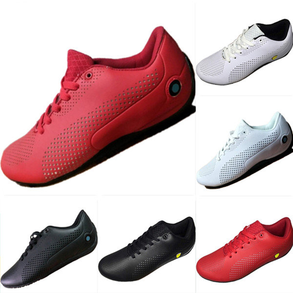 With Box 2019 Future Cat All Leather Punching Breathable Mens Motorsport Shoes Future Cat Mix RB Mens Casual Kart Sneakers