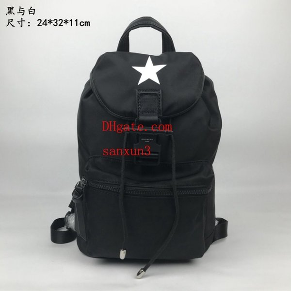 Male Tide Simple Large Capacity Leisure Travel Backpack Comfortable shoulder strap Fashion Trend Bag Handbag off-w1917