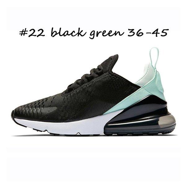 #22 black green 36-45