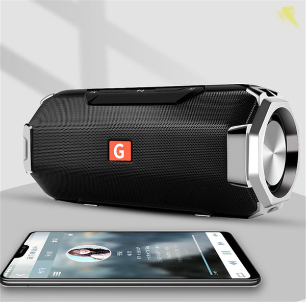 Metal Bass Bluetooth Speaker G23 Portable Wireless Outdoor Waterproof Mini Subwoofer 3D Stereo Music Mp3 Player for Mobilephone