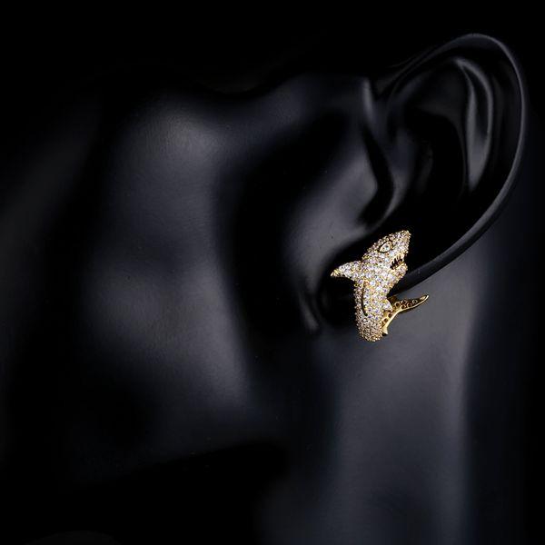 2019 cadeaux fines boucles d'oreilles longues Boucles d'oreilles monaco pour les femmes avec la pleine Shiny Cubiz Zircon boucle d'oreille femme