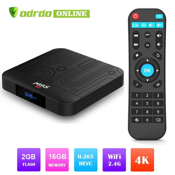 Amlogic S905W M9S W1 Android 7.1 TV Box Quad Core 2GB 16GB Smart Box WIFI 4K Media Player Better MXQ PRO 2GB X96 MAX S905X2 RK3328 T9