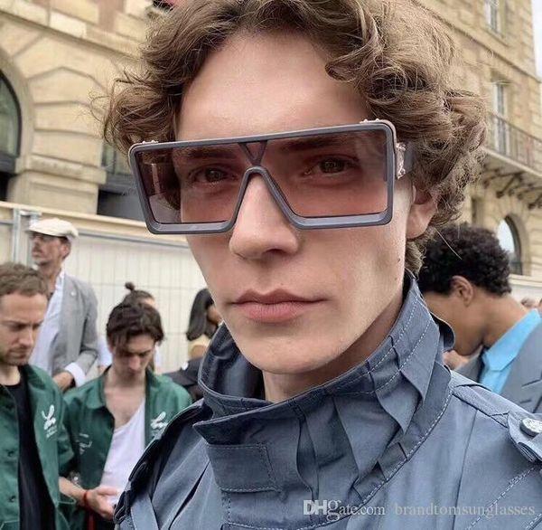 MILIONÁRIO Luxo 1258 1.1 Sunglasses full frame óculos escuros de grife vintage para homens brilhante do ouro Logo Hot vender banhado a ouro Top 96006