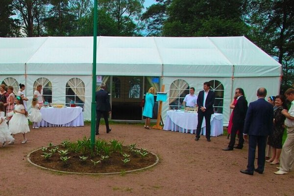 Cheapest price top quality trade show tent outdoor wedding tent for sale
