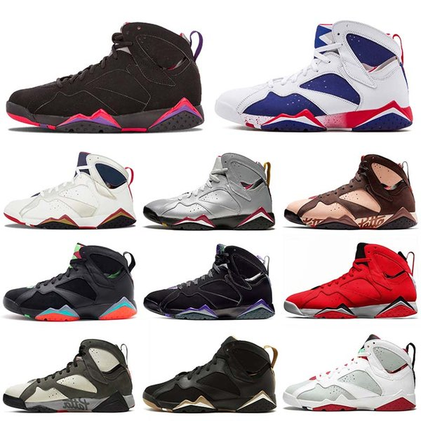 Top jumpman 7 men 7s basketball shoes eflective Of A Champion Icicle Raptro Charcoal GMP Ray Allen Fadeaway mens sneakers designer shoes