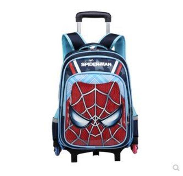Kids School Trolley Backpack Bags Wheeled Backpack For Kids School Bag On Wheels Children Bags Wheels For Boys Mochilas