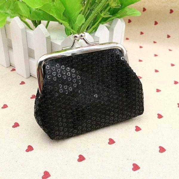Womens Small Sequin womens wallets and purses Coin Purse Clutch Handbag Bag monederos para monedas kids wallet mini purse Lucky #91131