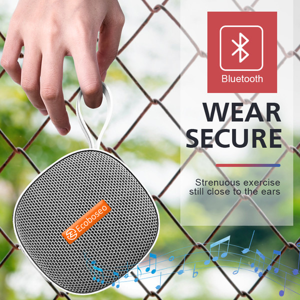 Huawei Ecoboseo Wireless Bluetooth Speaker Портативный Открытый водонепроницаемый бас стерео 5W Lounspeaker SD карты Динамики для телефонов