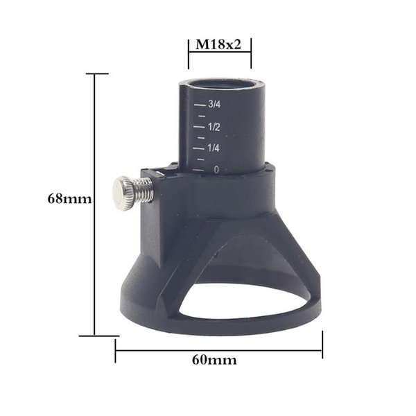 best selling Electric Grinding Locator Milling cutter positioner rotary tool electric tool accessories grinder Horn Cover