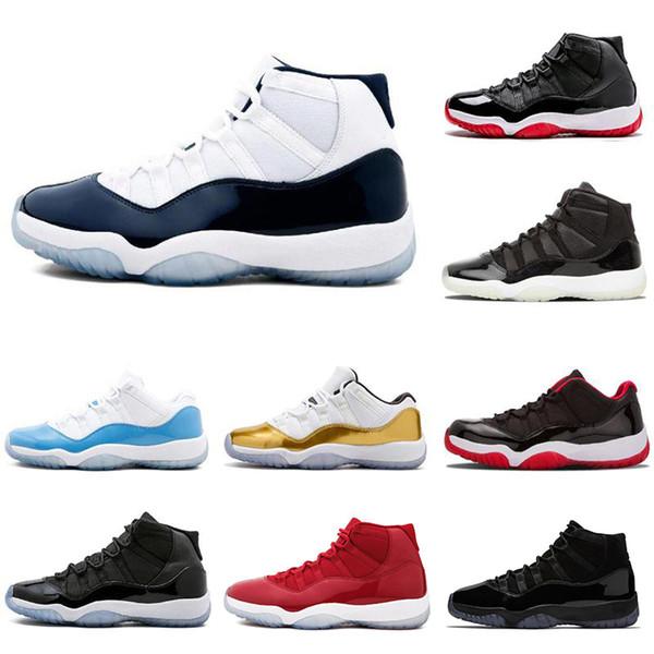 Diseñador 11 11s, zapatos de baloncesto para hombre Gorra y bata Gana como 82 entrenadores, zapatillas deportivas, zapatos deportivos, talla 5.5-13