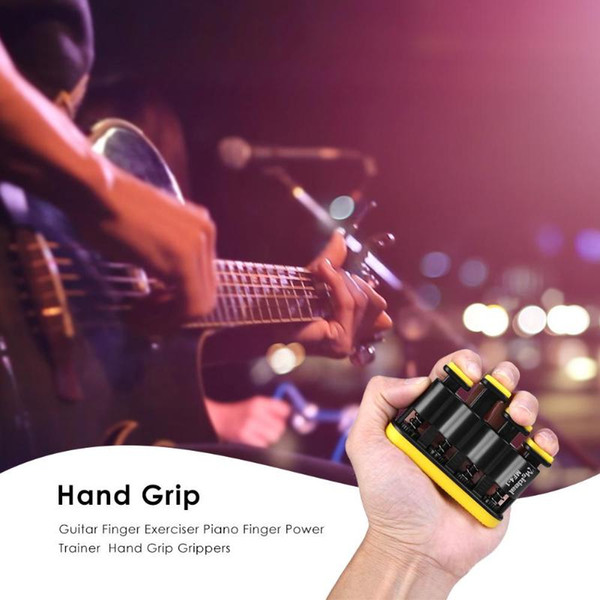 Hand Grip Finger Trainer Strengthener Adjustable Power Training Home Fitness Equipment Piano Guitar Finger Exerciser Trainers