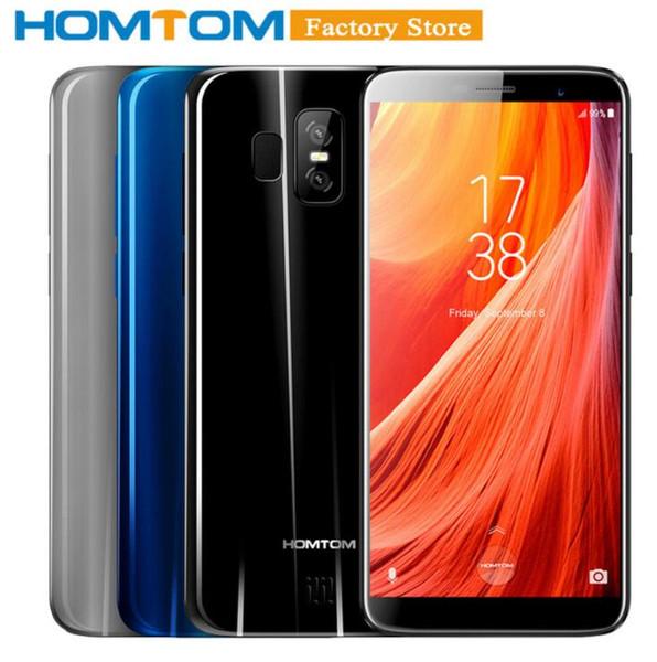 HOMTOM S7 4G Smartphone 5,5 pollici Quad Core 3 GB 32 GB Android Phone HD schermo Fingerprint sbloccare il telefono cellulare