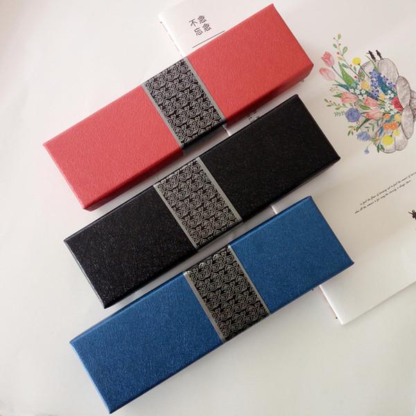 Pencil case Business stationery gift box Paper pencil box /pen case DL_BX015