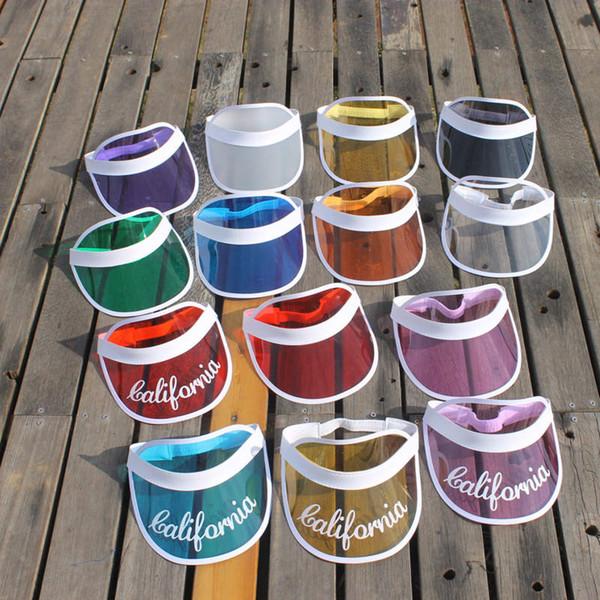 Adlut 여성과 남성 스포츠 골프 모자 UV 보호 여름 캡 디자이너 일 모자 PVC 바이저