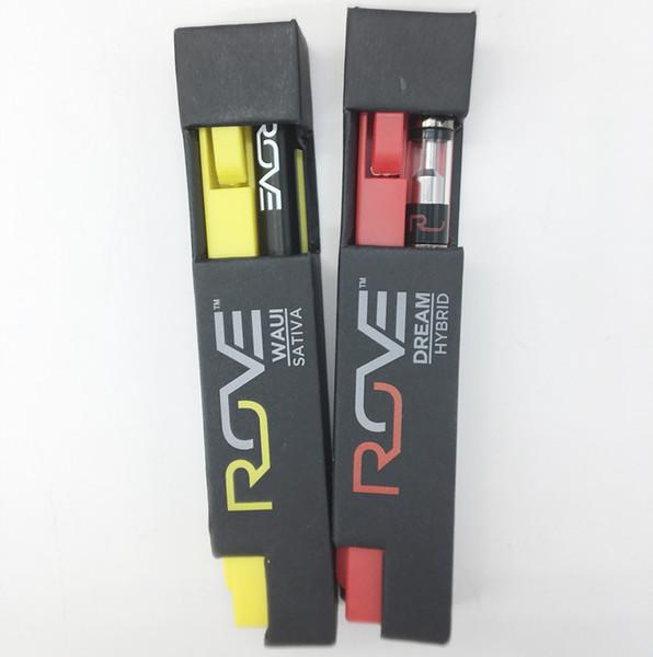 ROVE descartável E-Cigarros Vape Pen Bateria 510 Tópico vazios vaporizador Cartuchos Carrinhos Packaging 0,3 ml 280mAh Baterias para crianças Caixa