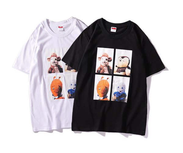 2bb9ec63 Ape Tees Fashion Mens T Shirt Kanye West Hip Hop Personality Print Tee  short Sleeves O