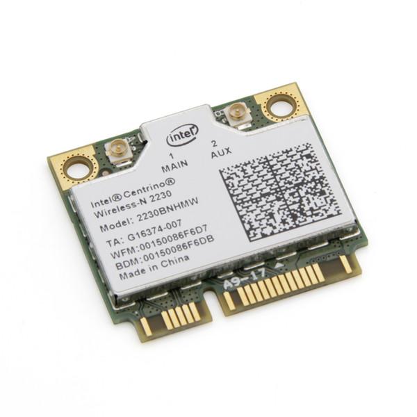 Ağ kartı 300 Mbps Wi-Fi + BT 4.0 Için Intel Centrino Wireless-N 2230 2230BNHMW Kablosuz WiFi Bluetooth Yarım mini Pci-e Wlan Ağ kartı