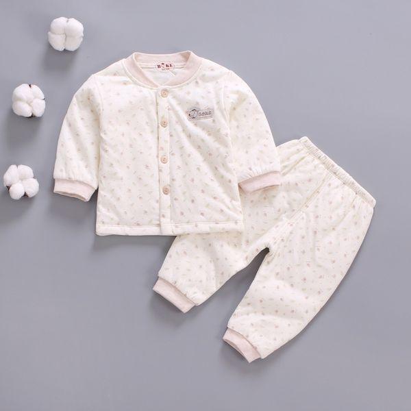 good quality spring autumn baby boys girls clothing sets newborn cotton pajamas infant girls boys sleepwear cartoon outfits for bebe