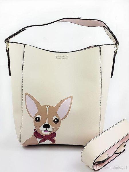 Pink Sugao Designer Bags For Women KbrandS Luxury Handbags Pu Leather Cartoon Women Shoulder Famous Brand Purses Tote Bag Drawstring 5 Color