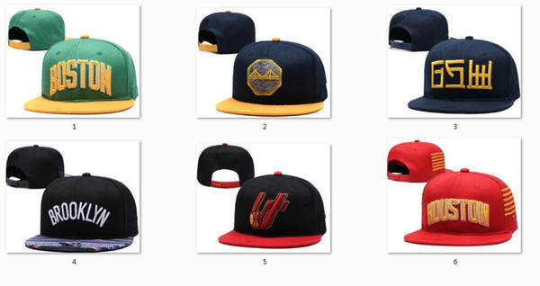 top popular New Caps Snapback Hats 2019 Teams Hats Mix Match Order All Caps in stock Basketball Football Hockey Baseball Top Quality Hat Wholesale 2021