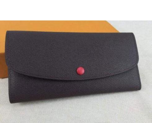 Best selling brand ladies canvas chain beach travel original box luxury real leather multicolor coin purse long wallet Card holder women man