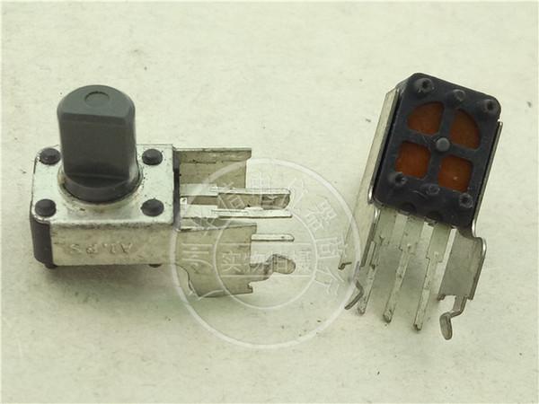 Japan Alps 09 Type Horizontal Single Lian Potentiometer D10k B100k Long Foot Handle Long 8mmf