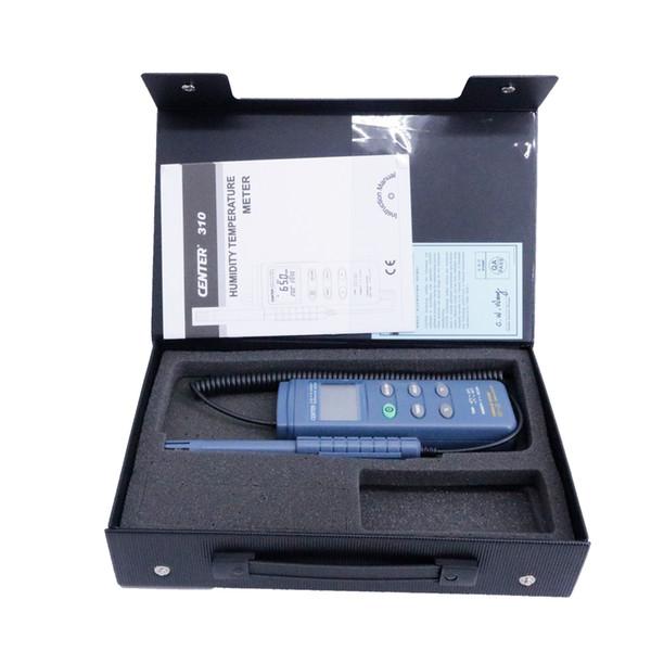 Testeur de température d'humidité d'interface numérique CENTER-310 Précision de la température: 0,7 ° C; 1.4F