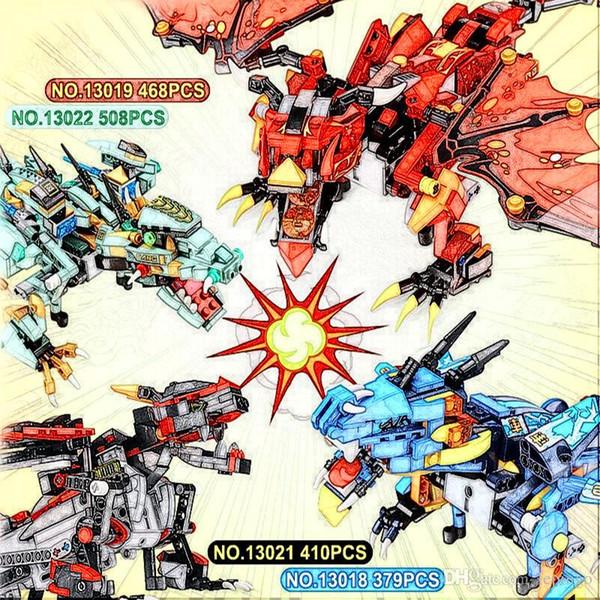 Remote control Yeshin 13018 13019 13021 13022 The Thunder Storm Lord War Kungfu Dragon Set Building Blocks Bricks Kid Toys gift