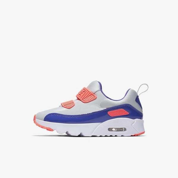 with box 2019 Casual Baby Sports Shoes Brand Design 90 II Kids Boys Girls Athletic Running Shoes Children Outdoor Shoes