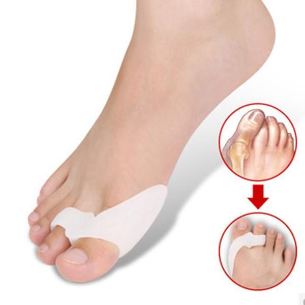 Toe Ayırıcı Minder Düzleştirici - Jel Toe Fix Paspayı, Koruyucular, Düzelticiler - Silikon Bunyon Destek Guard Ağrı kesici