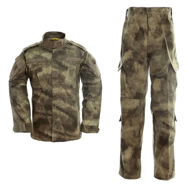 a tacs au camo army uniform men tactical cargo pants bdu combat uniform army men's clothing thumbnail
